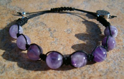 Amethyst Healing Energy Bracelet