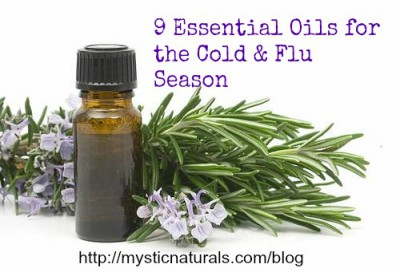 9 Essential Oils for the Cold and Flu Season