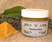 Herbal healing salve or balm