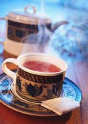 brewing perfect tea
